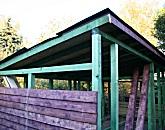 Gartenhäuser, Holzhütten, Verschläge, Brennholzlager, etc.